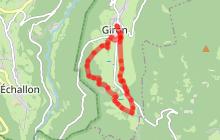 Circuit VTT n°7 Tour de la Praille - secteur Giron