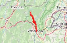 Circuit VTT n°10 Liaison GTJ vers Valserhône - Secteur Giron