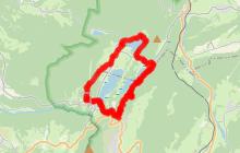 Saugeot - Les cascades - les 4 lacs + pic de l'aigle - Bonlieu - Belvédère de la Ronde - Retour