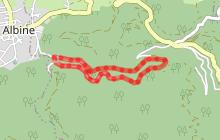 Randonnee VTT Le Ruisseau de Candesoubre