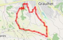 Circuit n°15 VTT - Les crêtes de Graulhet