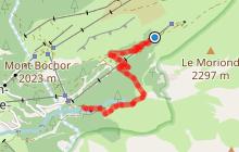 Parcours de descente VTT des Barmettes