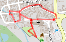 Circuit découverte de Ferrières en Gâtinais, village historique et médiéval