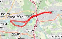 Bord de Marne - Lac de Vaires à vélo
