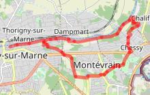 Au sud de la Marne à vélo