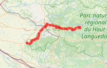 Grande Randonnée®653 la Voie d'Arles vers Saint-Jacques de Compostelle
