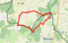 Le sentier des Crêtes : Beuxes/Vézières