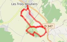 Le Sentier des Dolmens : Les Trois Moutiers/La Roche Vernaize