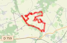 Le sentier de la Reine Blanche : Ranton/Curçay-sur-Dive