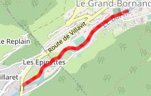 Itinéraire piéton - raquettes 30 - Le Borne