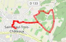 Circuit pédestre balisé Le Tour de Chatillon