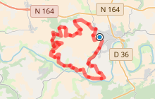 Châteauneuf-du-Faou : Sentier Rando Drosera - Aulne Ster Goanez