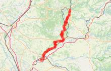 Itinéraire de liaison jacquaire de Conques à Toulouse - Entre Cordes sur Ciel et St Sulpice