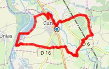 Cuzieu - La voie romaine