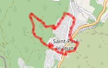Randonnée Les lavoirs boucle Nord - Saint Paul le Jeune