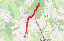 Voie verte Allassac-Barrage du Saillant