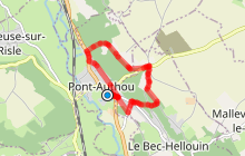 Chemin de l'Aventure, Pont-Authou 27290