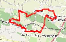 Chemin des Dours et des Vallées (Version longue) , Ecaquelon 27290