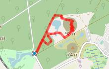 Circuit de Sabatier, la forêt, l'étang, le terril