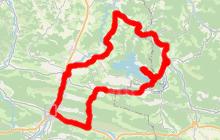 cyclotourisme en Pyrénées Cathares 51kms