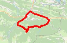 cyclotourisme en Pyrénées Cathares 33kms