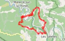 Randonnée Gravières - Les Eynès