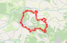 """Aurignac """"Route du patrimoine"""""""