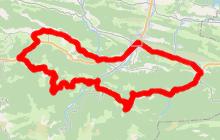Cyclotourisme en Pyrénées Cathares 65 km
