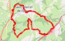 Saint Marcel de Félines - La Grotte de félines