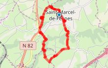 Saint Marcel de Félines - Puy bayard