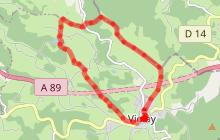 Violay - Le chemin des cretes