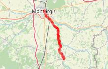 Eurovélo 3 La Scandibérique - étape Montargis/Châtillon-Coligny