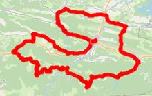 Cyclotourisme en Pyrénées Cathares 87.7km