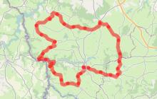 Les routes vallonnées de la Combraille