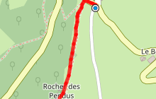 Le Rocher des Pendus à St Clément