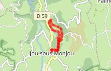 Le Tour du Canrou à Jou sous Monjou