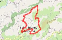 La Croix des Lucs à St Etienne de Carlat