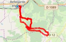 Bellegarde en Forez - Le tour du Claveau
