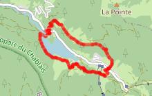 Circuit Trail 1 - Boucle du Lac de Vallon