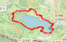 Tour du lac de Lourdes