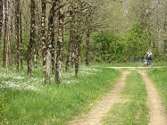 Itinéraire cyclable entre Saint Sulpice le Verdon et l'Herbergement