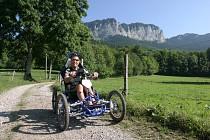 Balade en fauteuil tout terrain électrique : Bernex, Thollon-les-Mémises, Bernex