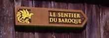 Petite balade sur le sentier du Baroque