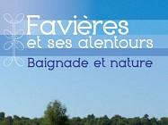 Favières et ses environs verdoyants