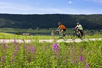 Tour du Jura à vélo sportif