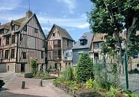 Circuit du patrimoine - ville de Pont Audemer 27500 Normandie