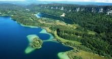 Le pic de l'Aigle et le belvédère des 4 lacs