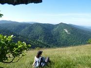 Les Monts d'Ain depuis Chamoise (Saint-Martin du Fresne)