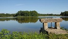 Observatoire sur l'étang grange volet